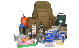 Deluxe Two-Person 72-Hour Emergency Go Bag | Bugout Bag info - EVAQ8.co.uk Emergency Preparedness